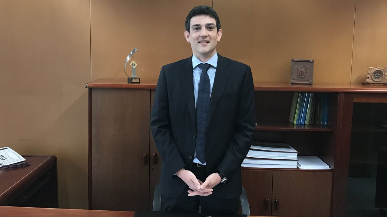 Javier Arias Fouz, nuevo delegado de la Xunta en Lugo