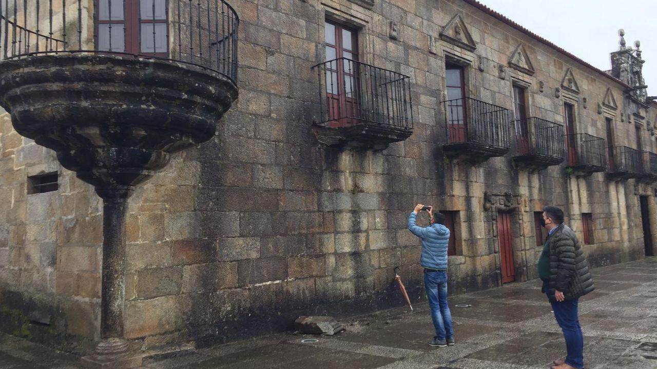 Fátima Abal e José Ramón Abal volvieron a protagonizar momentos de tensión durante el pleno telemático de Cambados