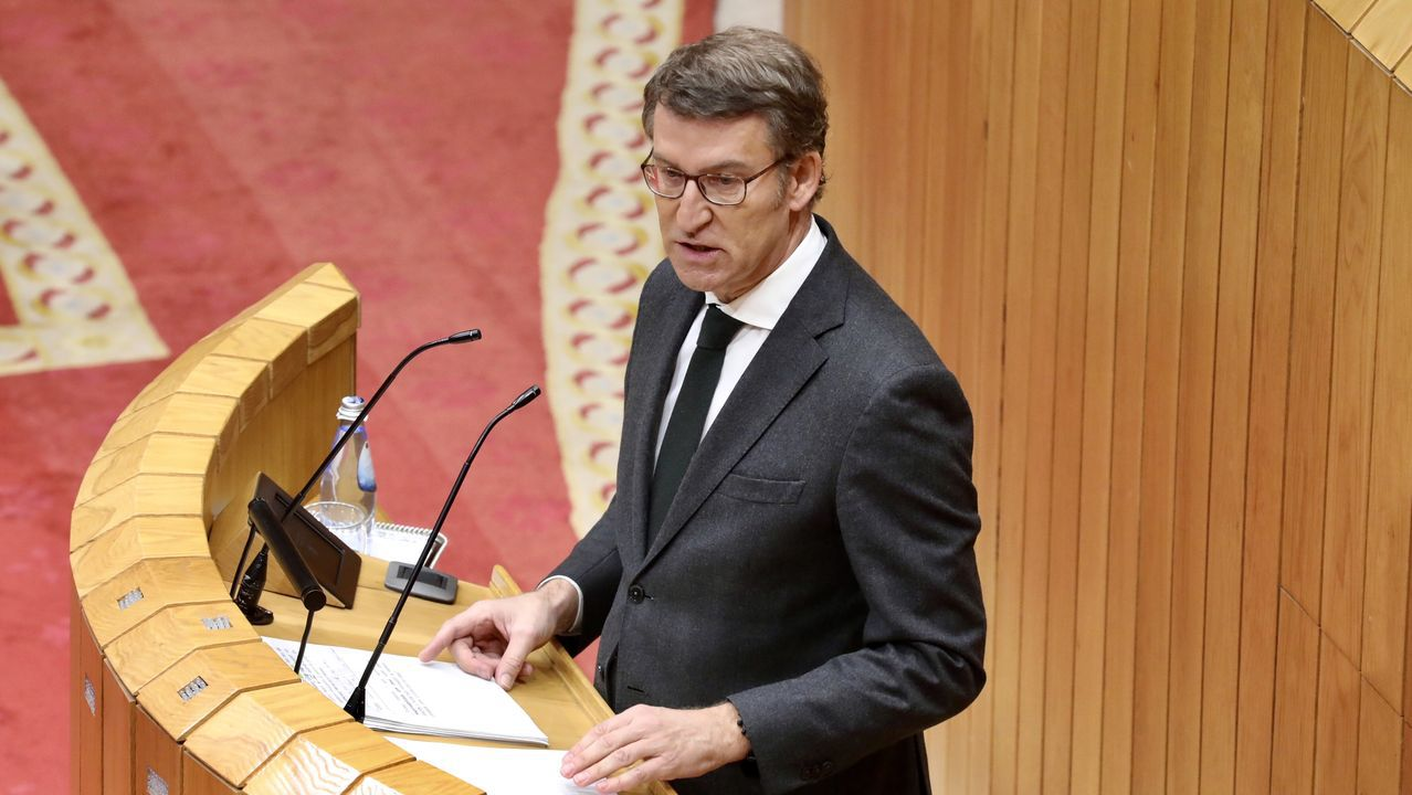 En directo: Feijoo presenta en el Parlamento las nuevas medidas contra la pandemia