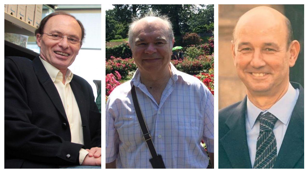 Bernardo Seoane, Agustín Romay y Rafael Reparaz