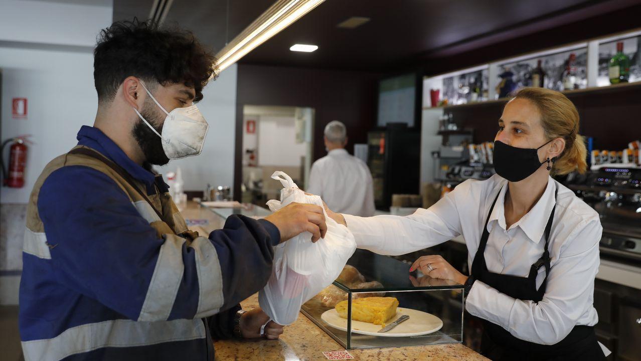 En San Cibrao das Viñas, los restaurantes podrán abrir para dar comidas en el interior