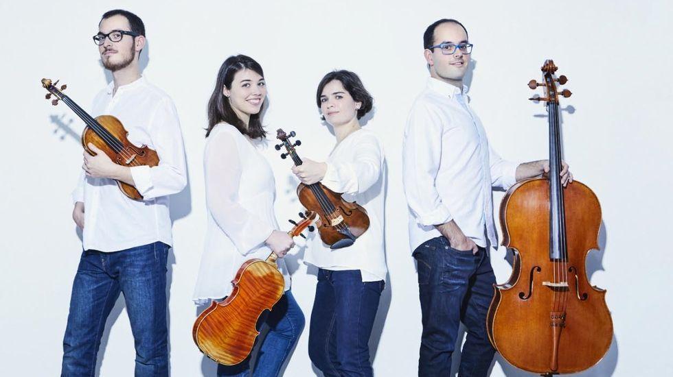La primera «filmersión» se rueda en Baleira.Cosmos Quartet actuará en el Festival Bal y Gay