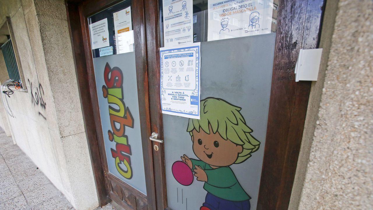 La escuela infantil Chiquis de Pontevedra lleva cerrada desde el lunes tras dos positivos