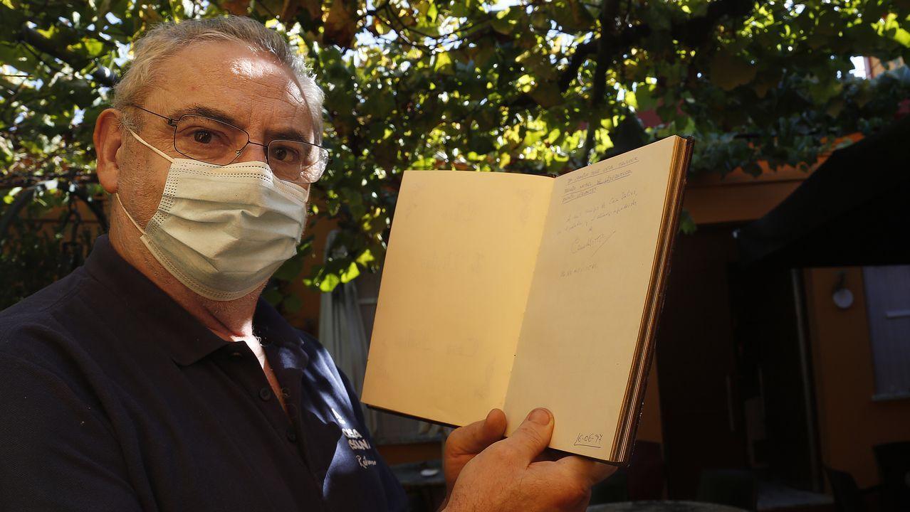 Carmen Iglesias, en una imagen tomada esta semana en Allariz, donde reside ahora