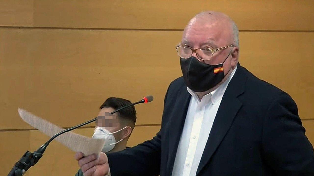 Villarejo, durante el juicio celebrado en Madrid