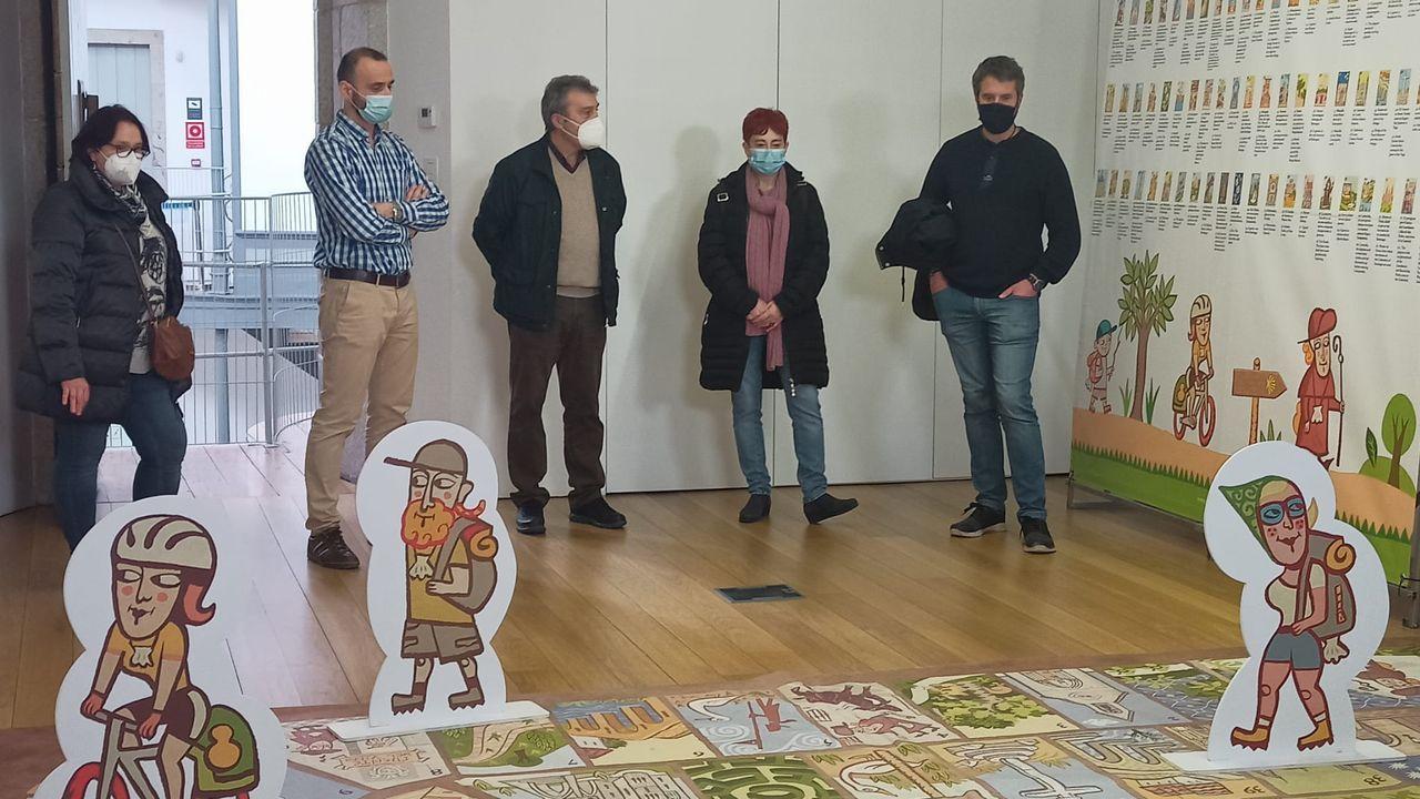 La trayectoria de Quico en imágenes.Mostra O coñecemento no Camiño, organizada pola Liga de Asociacións de Xornalistas do Camiño de Santiago