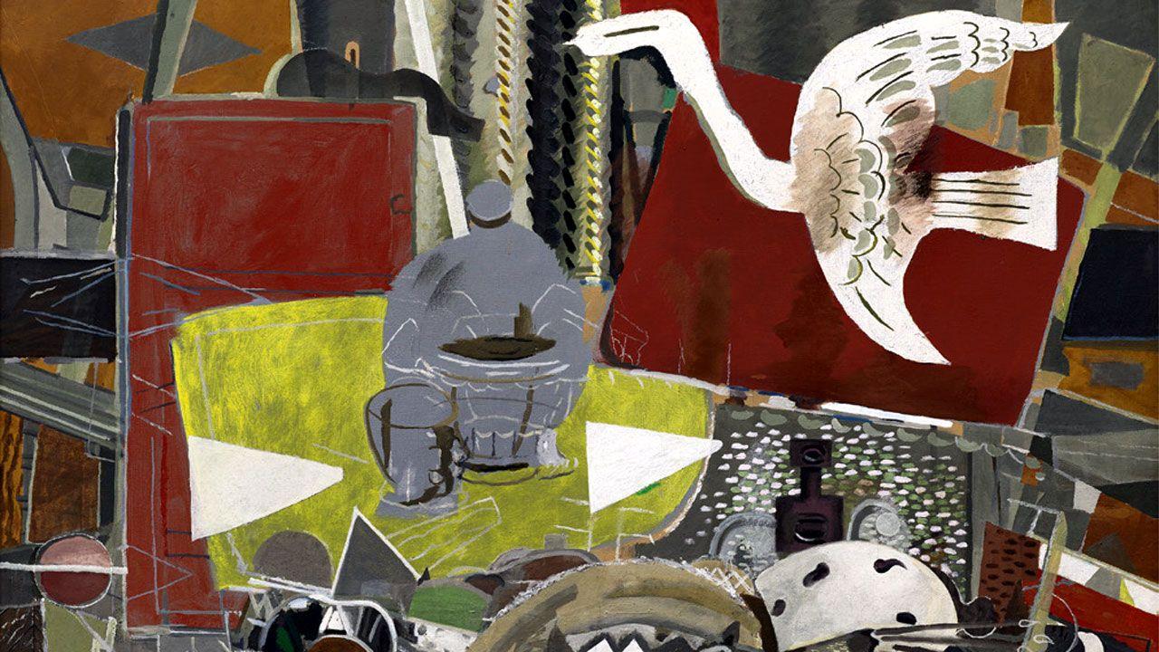 Fragmento de 'Atelier VIII', de Georges Braque (1954-55)