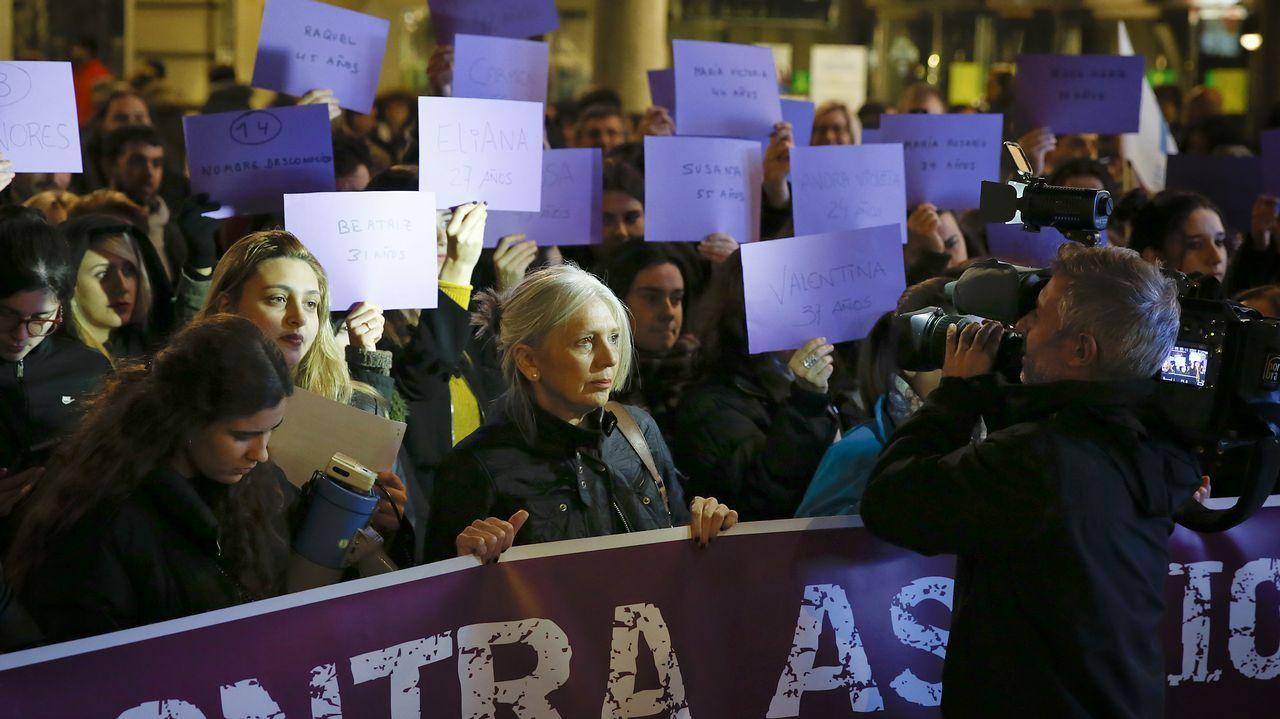 A Coruña clama contra la violencia machista