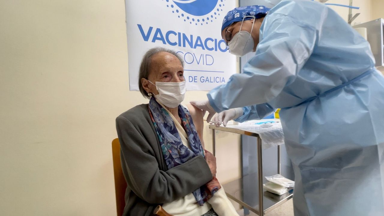 Javier perdió a su padre por causa del coronavirus