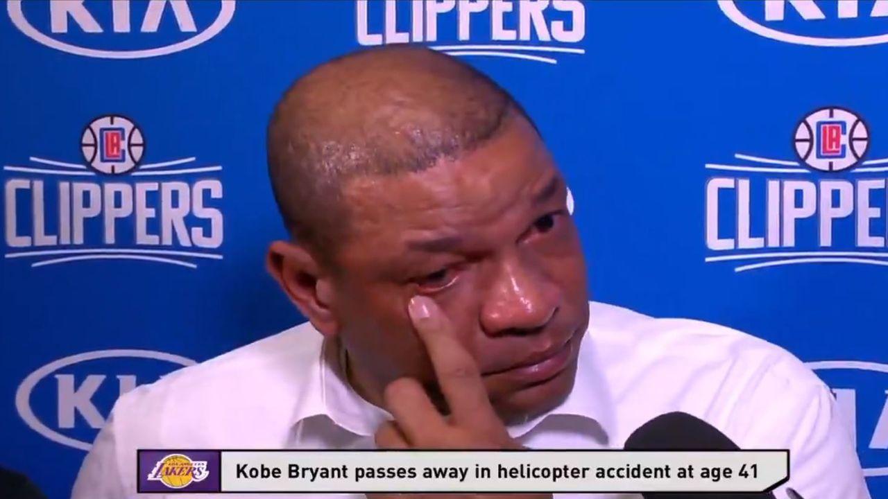 Las últimas imágenes del helicóptero de Kobe Bryant volando