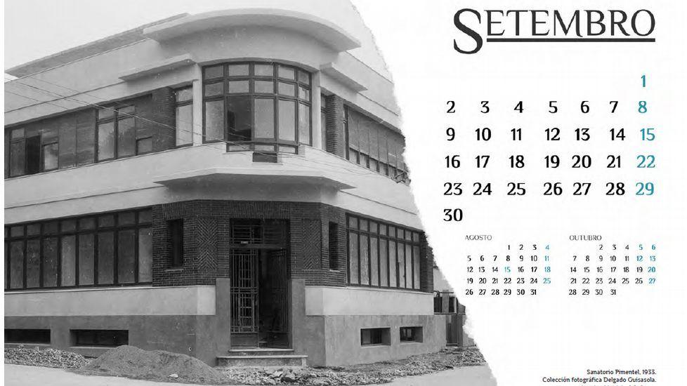 Las imágenes del calendario