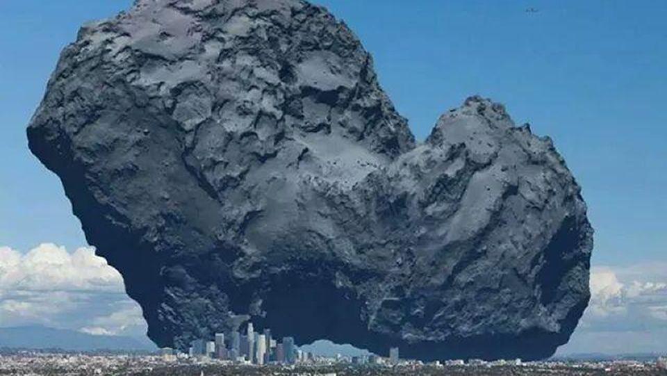 Se acopla con éxito la nave Soyuz a la Estación Espacial Internacional.Comparación del tamaño del cometa 67P/Churyumov-Gerasimenko, donde aterrizará la sonda de Rosetta, con la ciudad de Los Ángeles