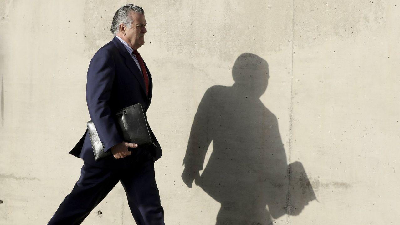 El extesorero del PP Luis Bárcenas, uno de los 37 acusados de la trama Gürtel