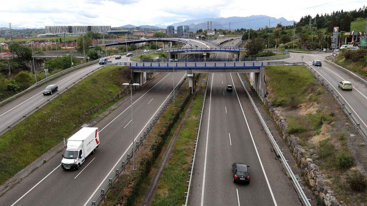 Autopista Y que une Oviedo, Gijón y Avilés