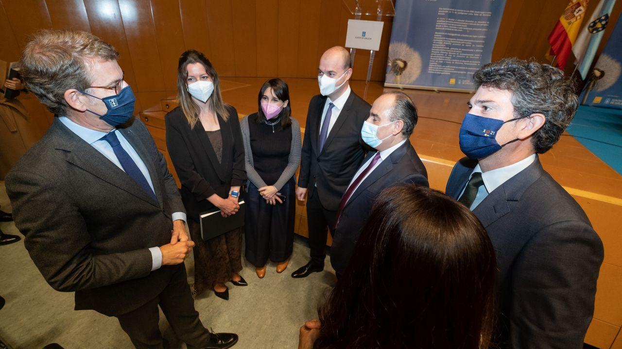 Las fotos del aniversario de Alar Galicia.Actos del 20 aniversario de Alar Galicia, con la presencia del presidente de la Xunta, Alberto Núñez Feijoo
