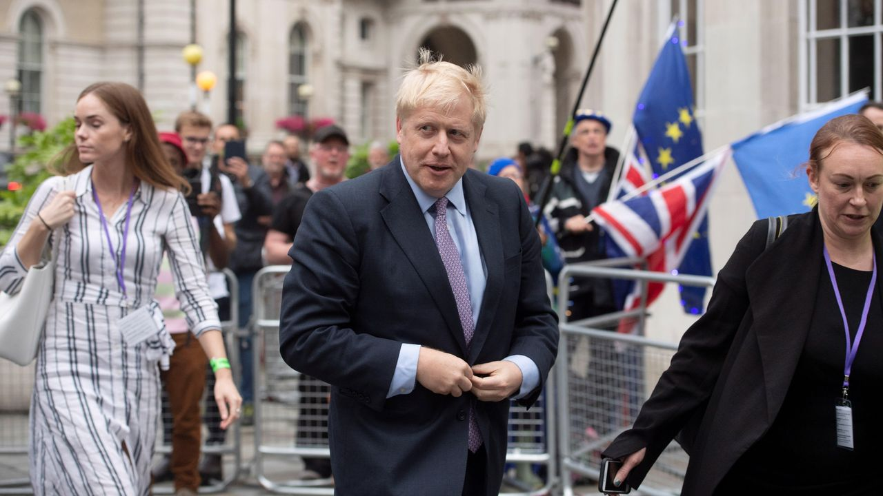 El exalcalde de Londres y exministro de Exteriores, Boris Johnson, lidera con holgura las votaciones