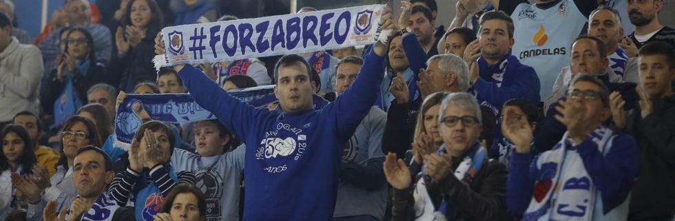 El derbi entre el Básquet Coruña y el Breogán, en imágenes
