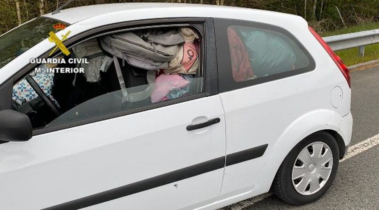 De Madrid a la costa lucense con el coche a rebosar