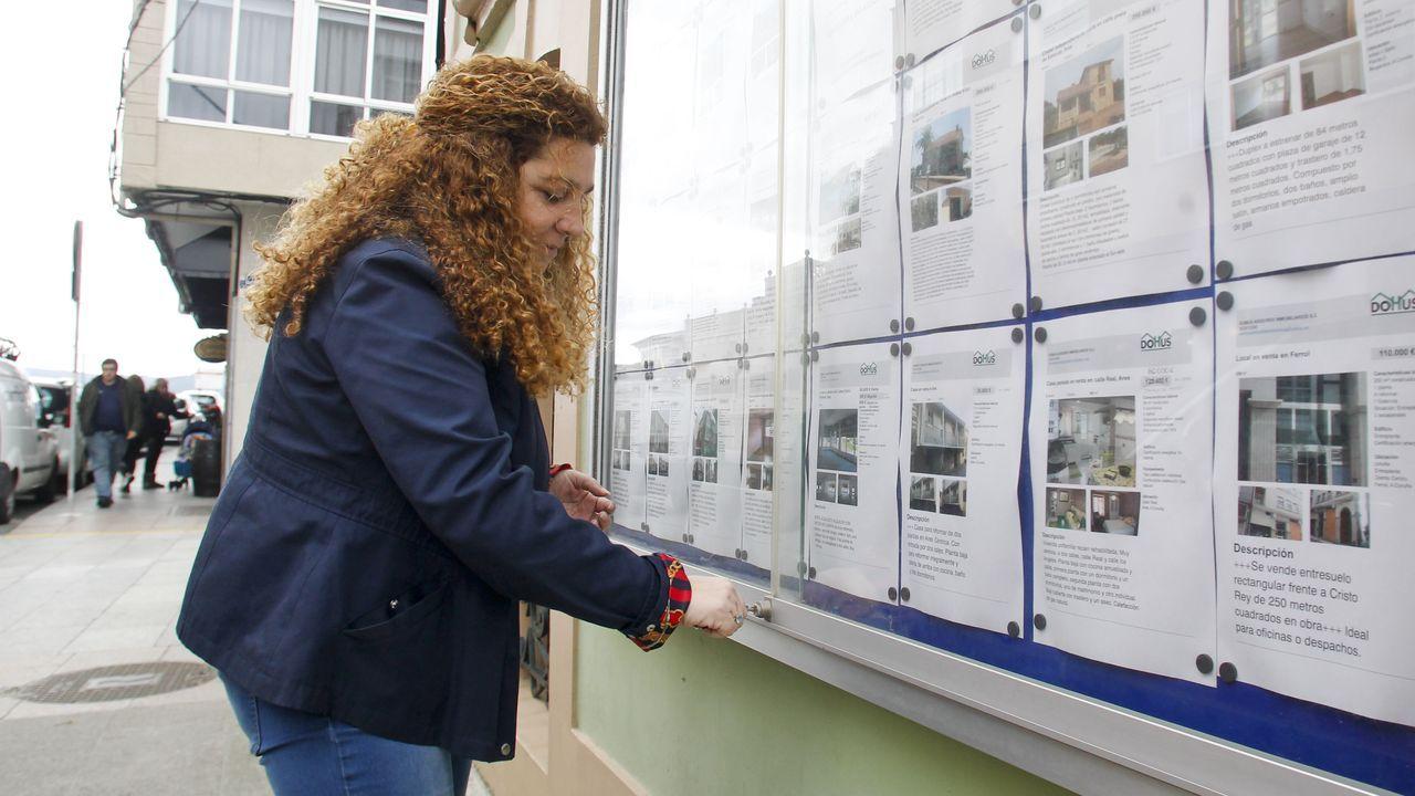 La inmobiliaria aresana Cidade dispone de más de un centenar de pisos de alquiler, que suelen agotarse tras la Semana Santa