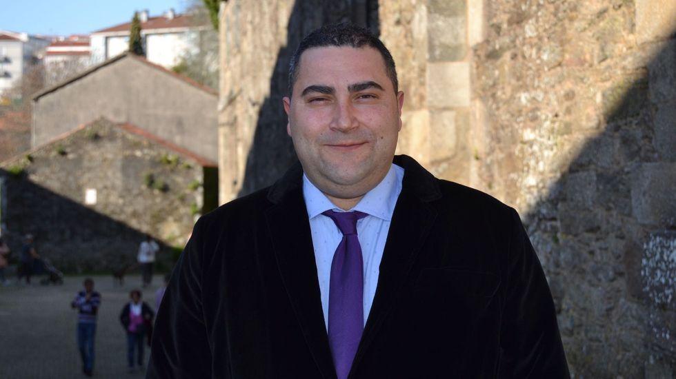 José Ramón Muñiz Ramos, presidente de la Junta de Cofradías de Santiago