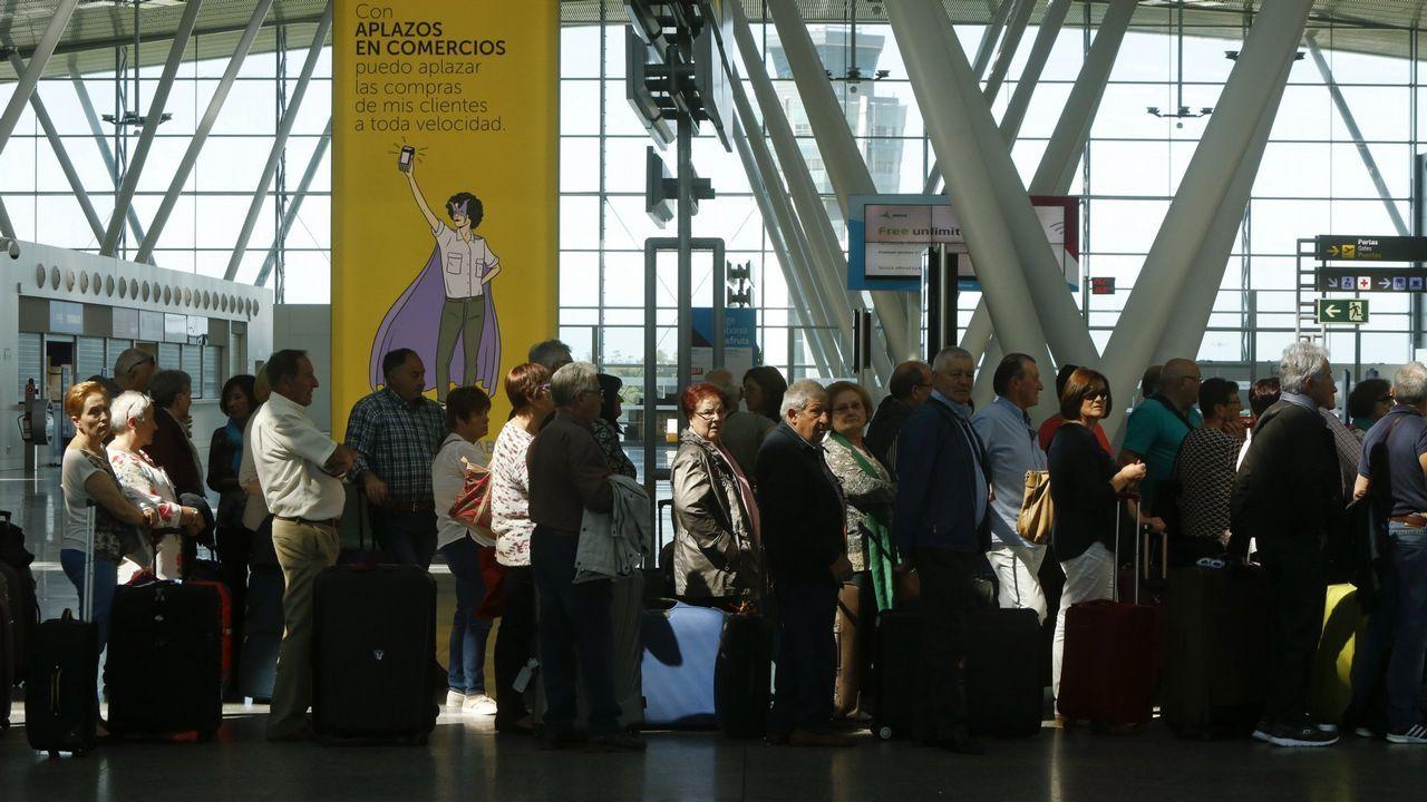 «Tener tres aeropuertos compitiendo entre sí y Oporto al lado no ayuda».José Maza, hijo de José Manuel Maza