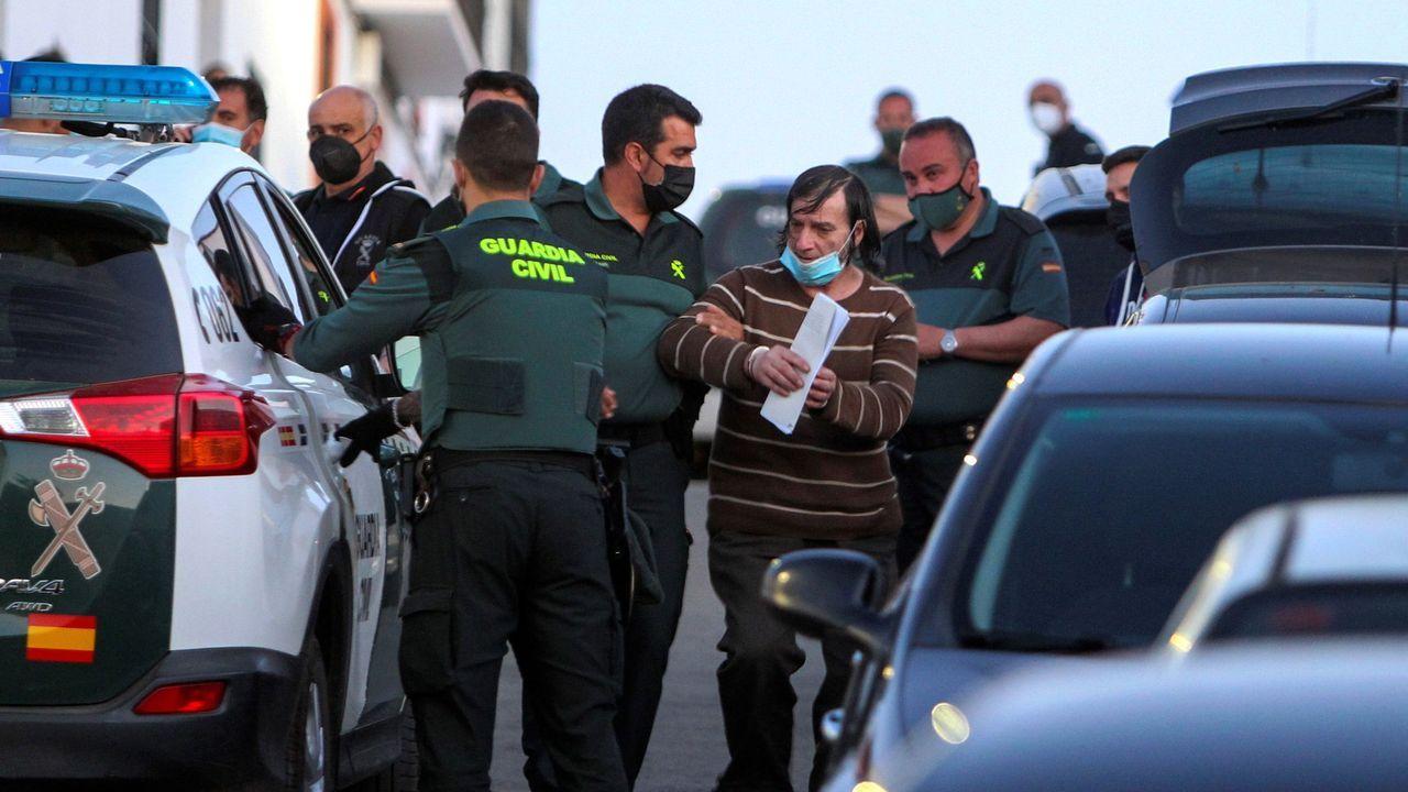 El autor del doble fratricidio en Los Santos de Maimona (Badajoz)