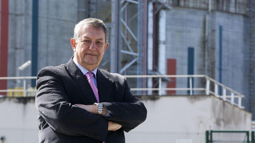 José María Paz: «Hace falta el gasoducto para unir Galicia con la Meseta».Emilio Bruquetas es el director general de Reganosa