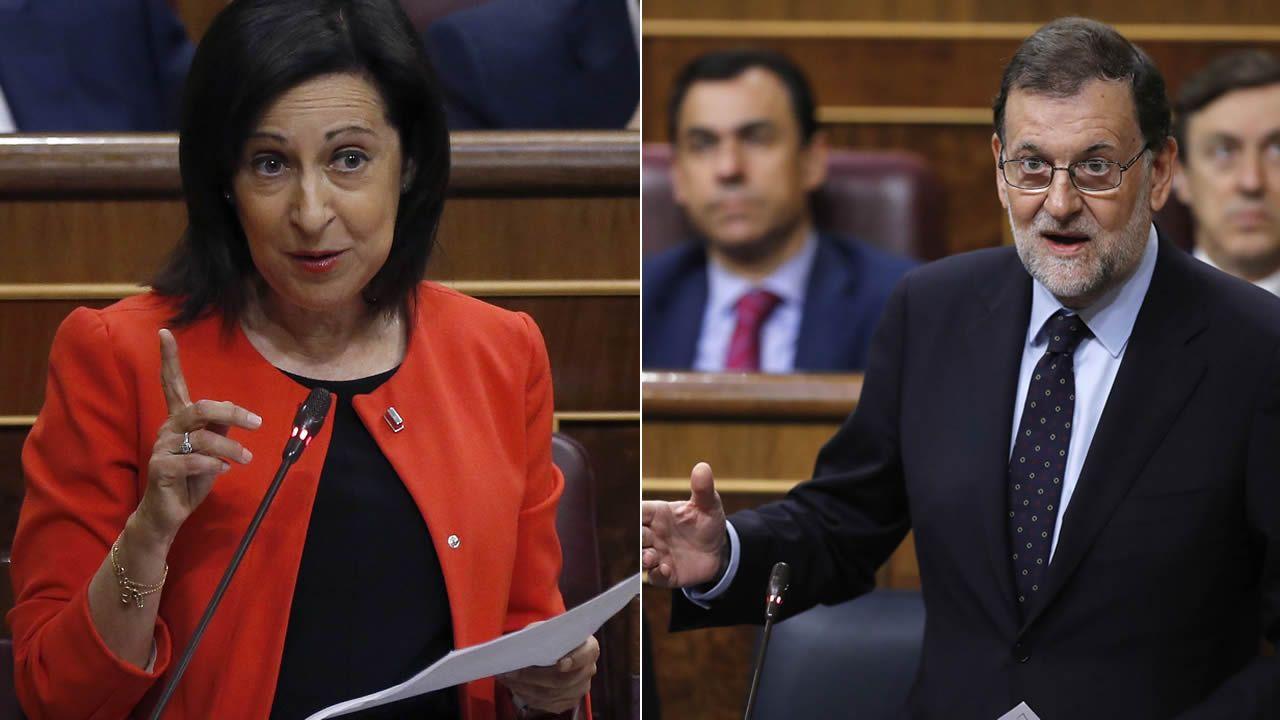 Margarita Robles se estrena en su nuevo cargo preguntando a Rajoy sobre la amnistía fiscal.Fernando Alonso en Asturias