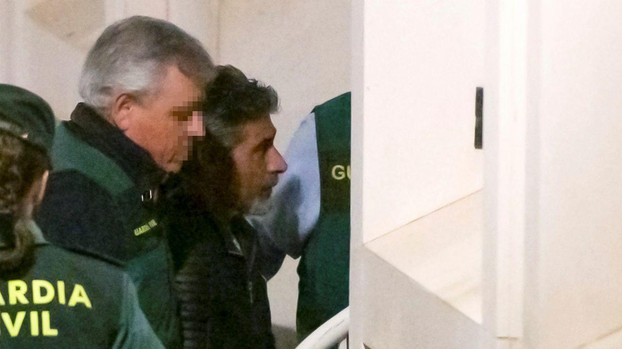 Trasladan a Bernardo Montoya a la prisión de Morón.Duro Felguera