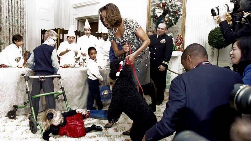 Donald Trump honra al soldado desconocido horas antes de proclamarse nuevo presidente de EE. UU..El matrimonio Obama abandona el escenario tras el último discurso de Barack como presidente. Michelle dedicó buena parte de sus actos como primera dama de EE.UU. a la promoción de la educación