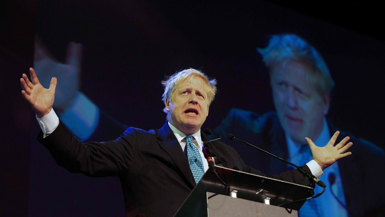 Johnson fue un activo defensor del divorcio duro con la UE durante su etapa como ministro