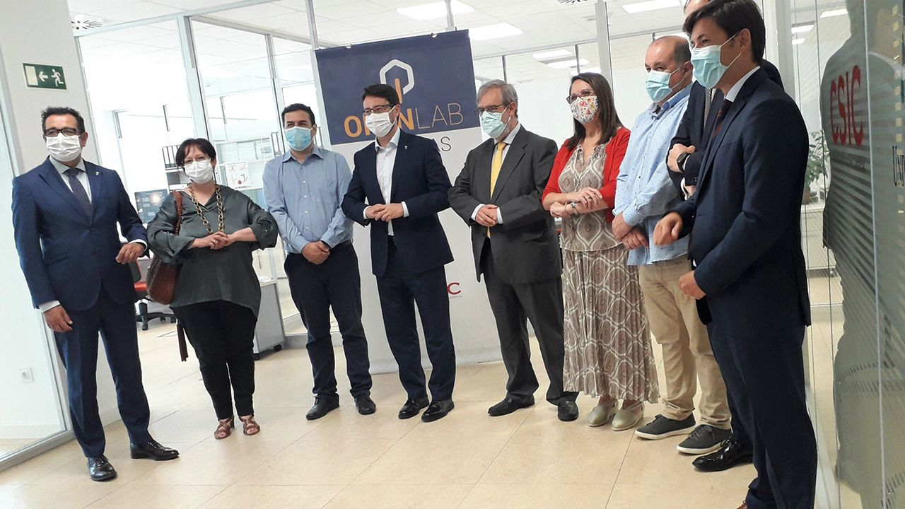 Gobierno del Principado .Valnalón, Sodeco y el CSIC impulsan el proyecto Open Lab Asturias