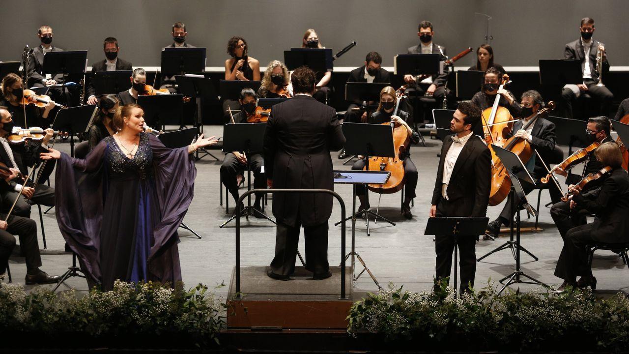 Recital de Xabier Anduaga y Jessica Patt en el Colón.