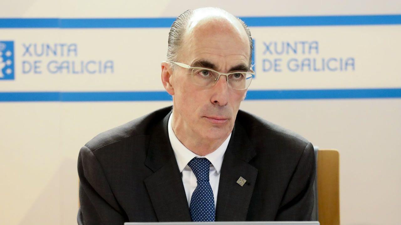 Foto del archivo del conselleiro de Sanidade, Jesús Vázquez Almuiña.