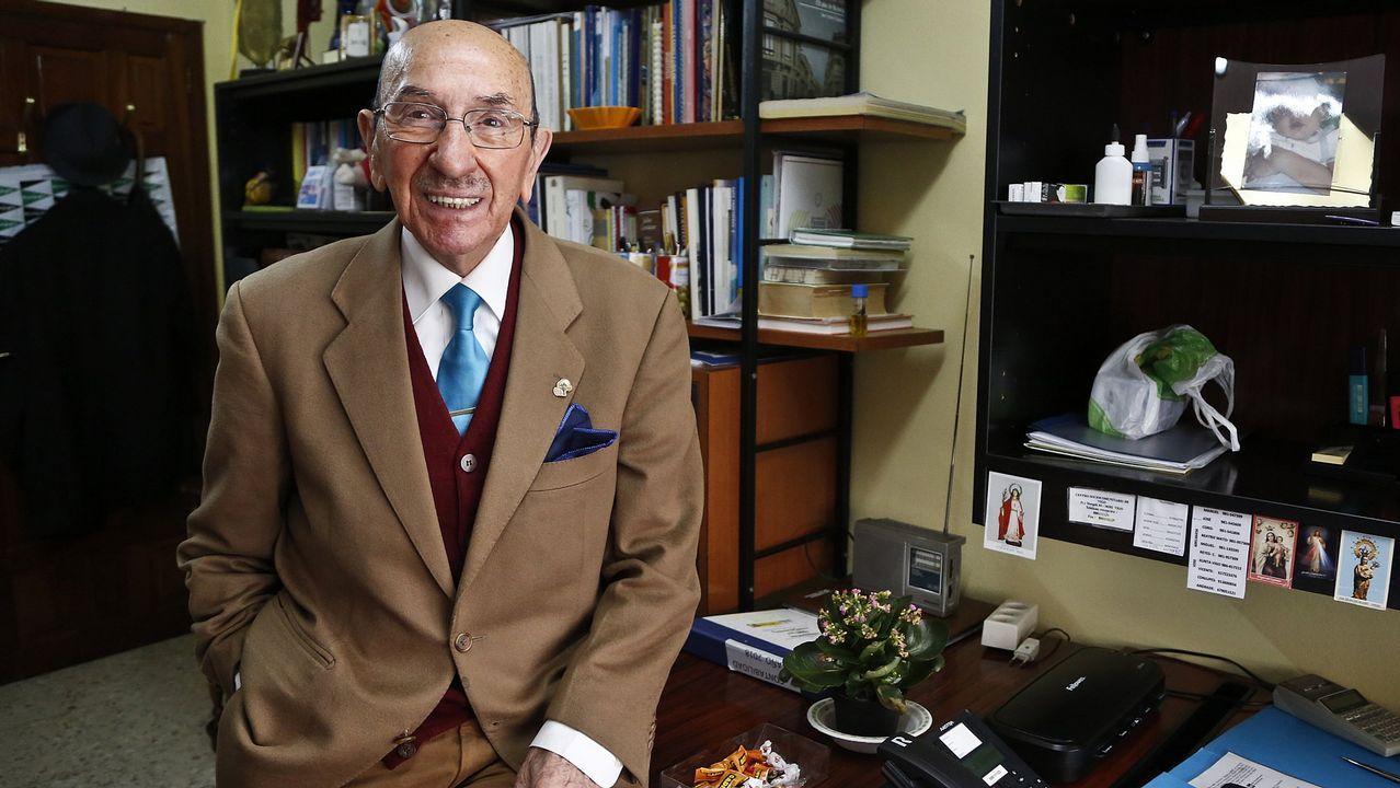 José Piñeiro sigue trabajando a sus 92 años