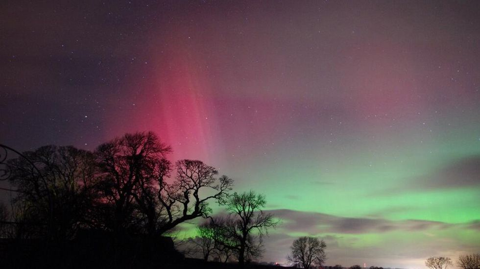 Cumbria, al norte de Inglaterra.