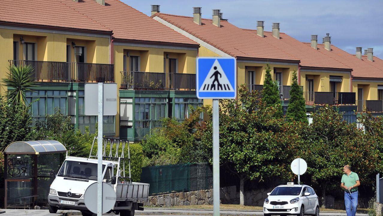 Urbanización Valaire, en A Zapateira