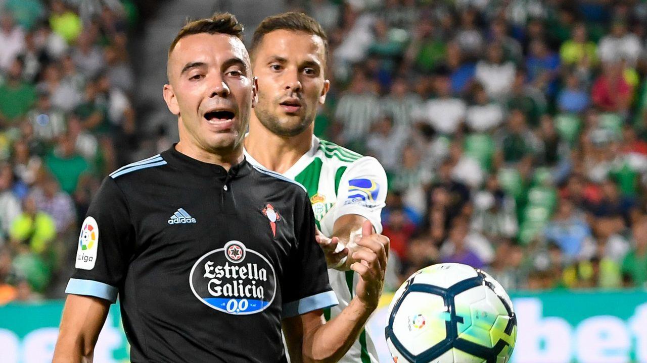 244 - Betis-Celta (2-1) de Primera el 25 de agosto del 2018