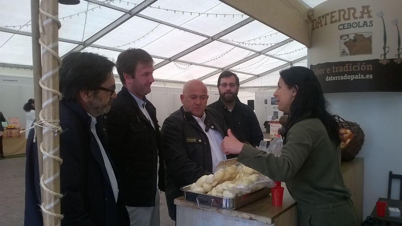 Exposición de productos de la Reserva de la Biosfera Mariñas Coruñesas e Terras do Mandeo