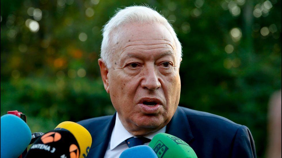 García-Margallo y el candidato Oriol Junqueras mantendrán hoy un atípico debate sobre la expulsión de la UE si Cataluña se independizara.
