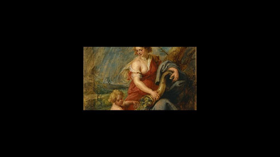 «Abundancia» (1630), de Pedro Pablo Rubens. Tokyo Gallery. The National Museum of Western Art