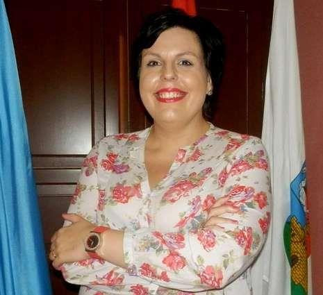 La alcaldesa de Vegadeo, la «popular» Begoña Calleja.
