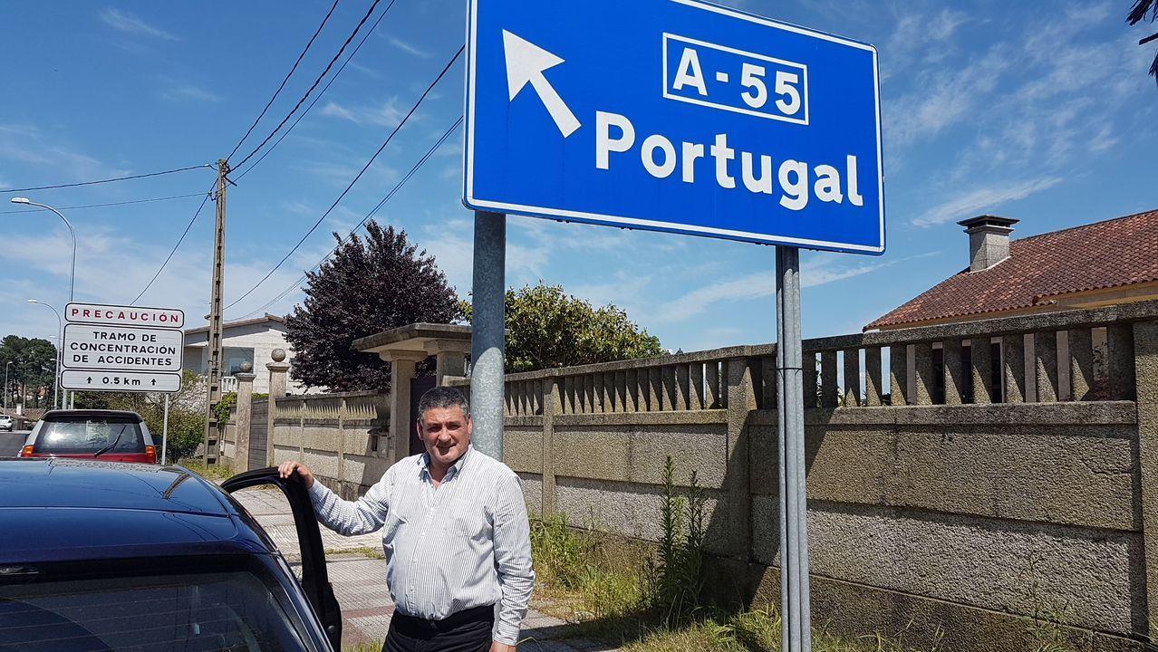 El mundo, entre la desinfección yla nueva cotidianidad.La empresa de Celso tiene su sede en Vila Nova da Cerveira