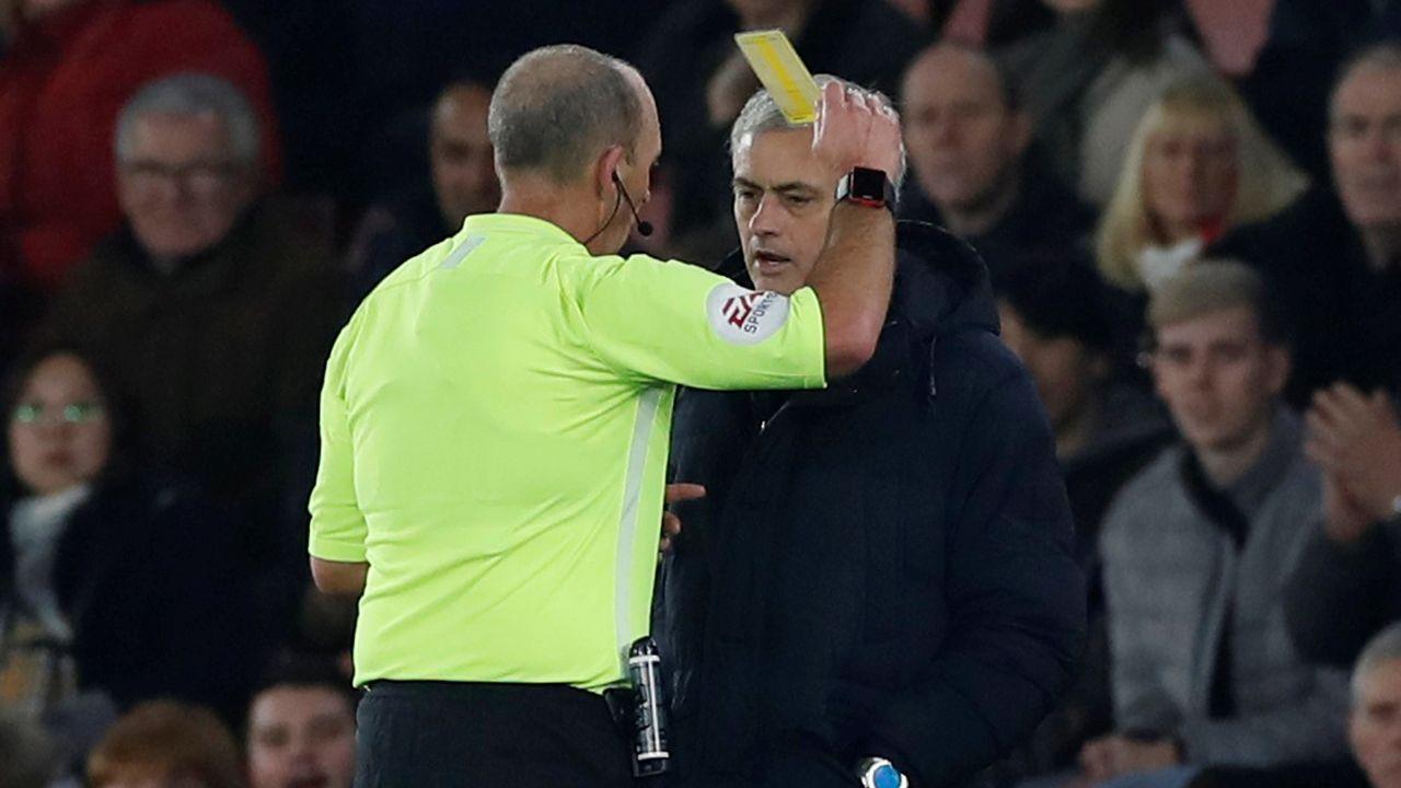 Mourinho y Preciado