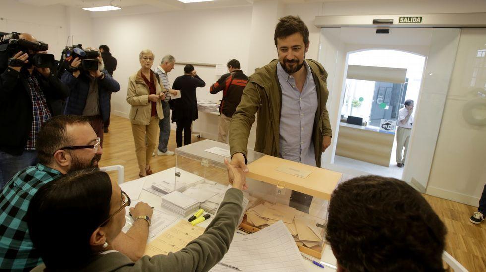 Antón Gómez Reino, candidato de En Marea por A Coruña