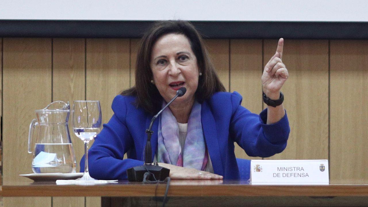 La vicepresidenta primera del Gobierno y ministra de Relaciones con las Cortes y Memoria Democrática, Carmen Calvo