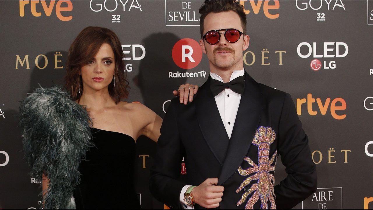 Maria Botto.Macarena Gómez y Aldo Comas