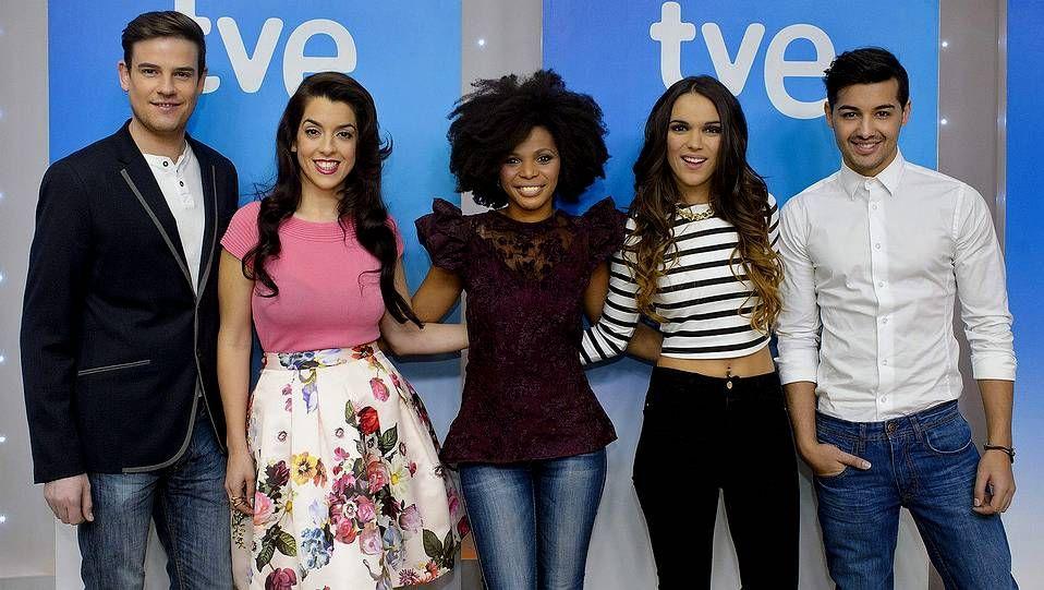 Raúl, Ruth Lorenzo, Brequette, La Dama y Jorge González, aspiran a representar a España en Eurovisión.