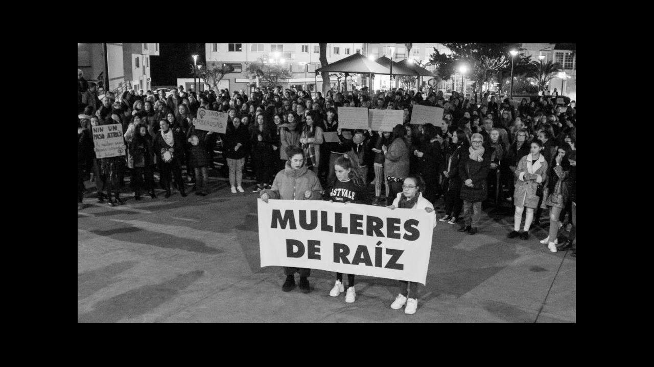 Asturias conmemora el 8-M. Manifestación estudiantil en Oviedo por el 8M