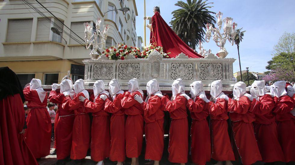 San Juan, en Domingo de Ramos, en Ferrol